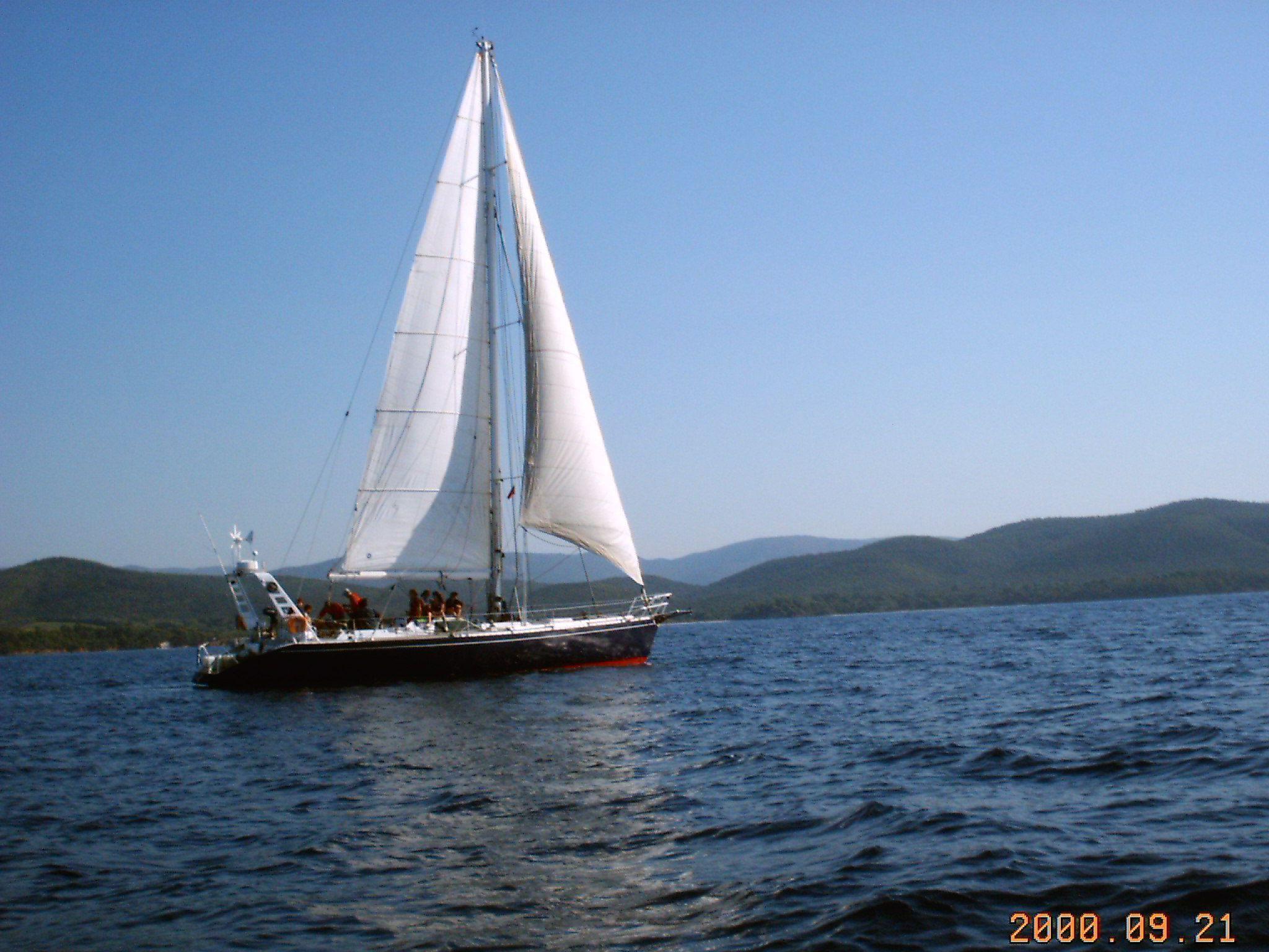 bateau 1 mat